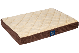 Serta Orthopedic Quilted bed
