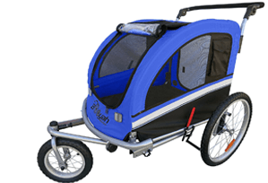 MB booyah large pet trailer pet bike trailer stroller review
