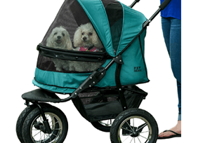 pet gear no zip double pet stroller review